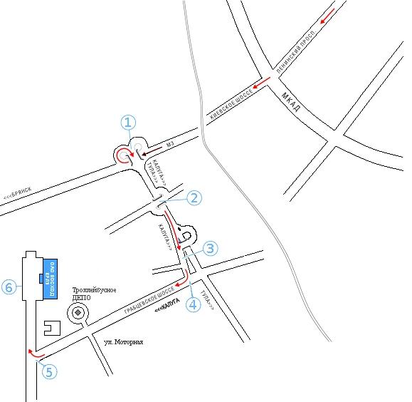 Онлайн-карта: